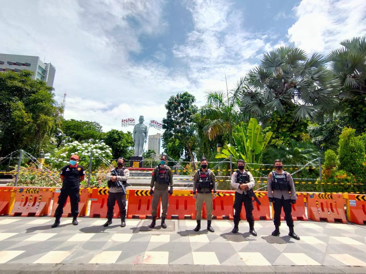 Amankan Demo Omnibus Law, Masa tertib dan aman terkendali