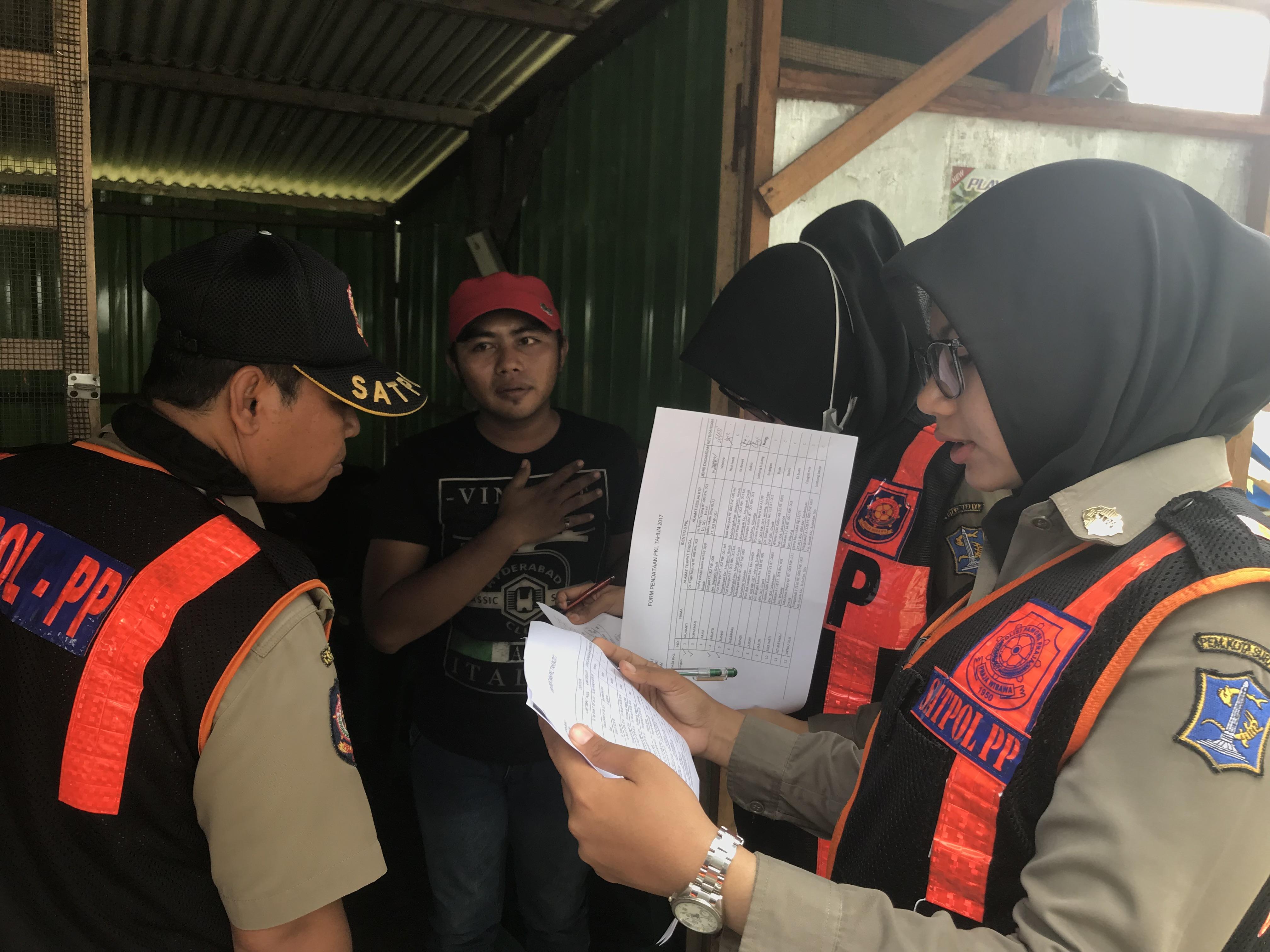 Pemilik PKL Merespon Positif Adanya Relokasi