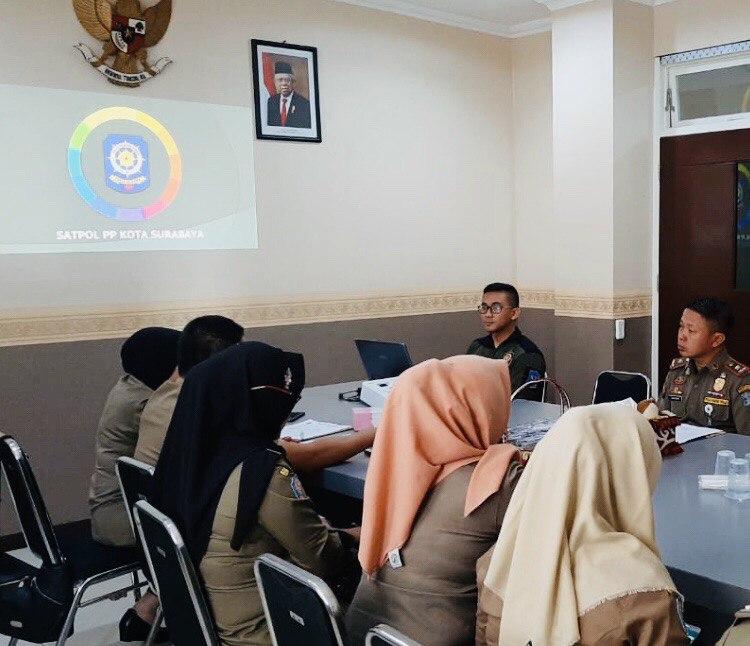Dinilai Terbaik, Satpol PP Kudus Belajar di Satpol PP Surabaya